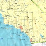 Southern California Base Map   California Atlas Map