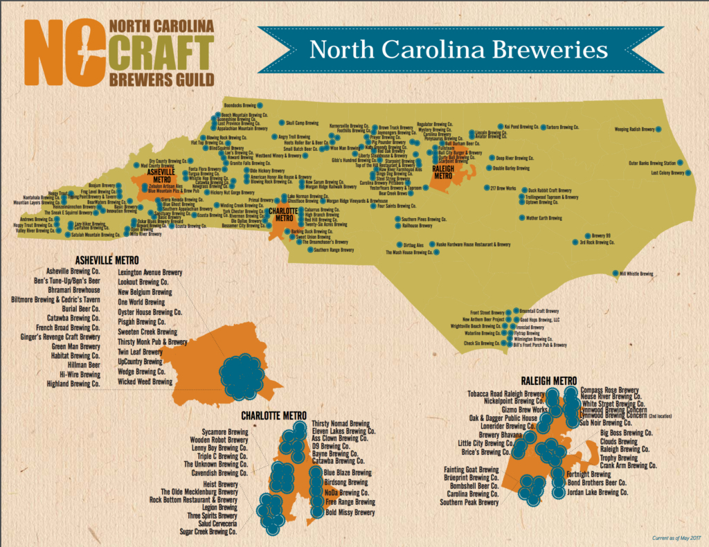 Southern California Breweries Map California Map With Cities - California Brewery Map