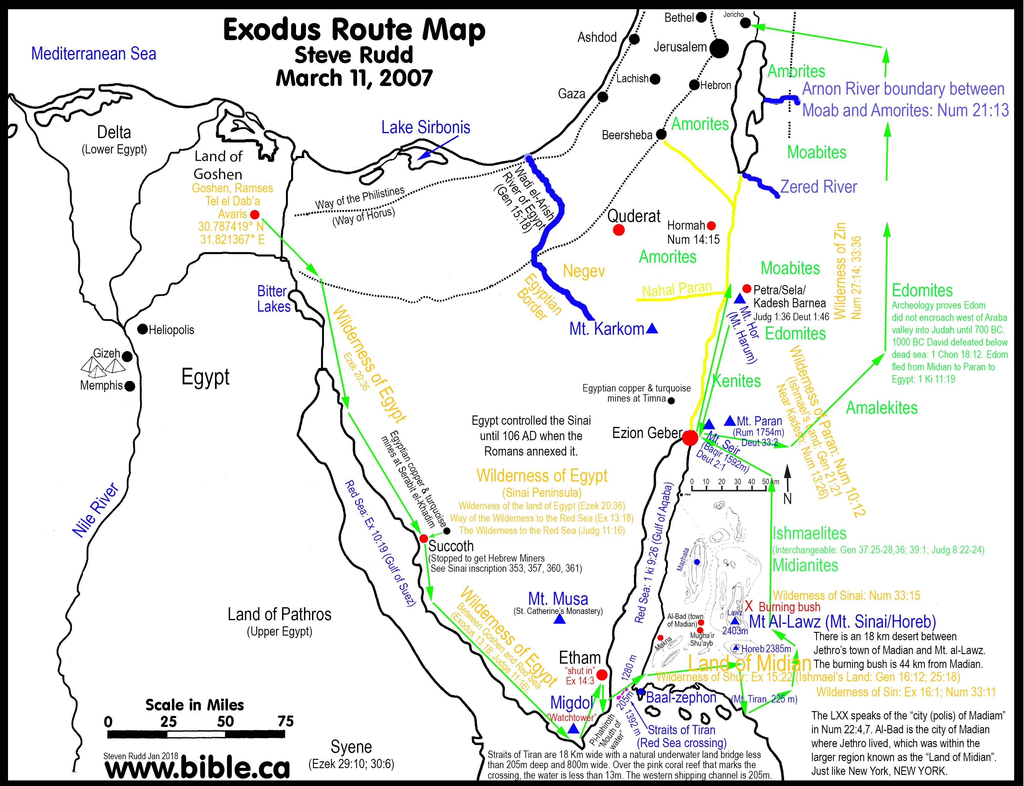Southern California Camping Map New The Exodus Route Red Sea Camp At - Southern California Campgrounds Map