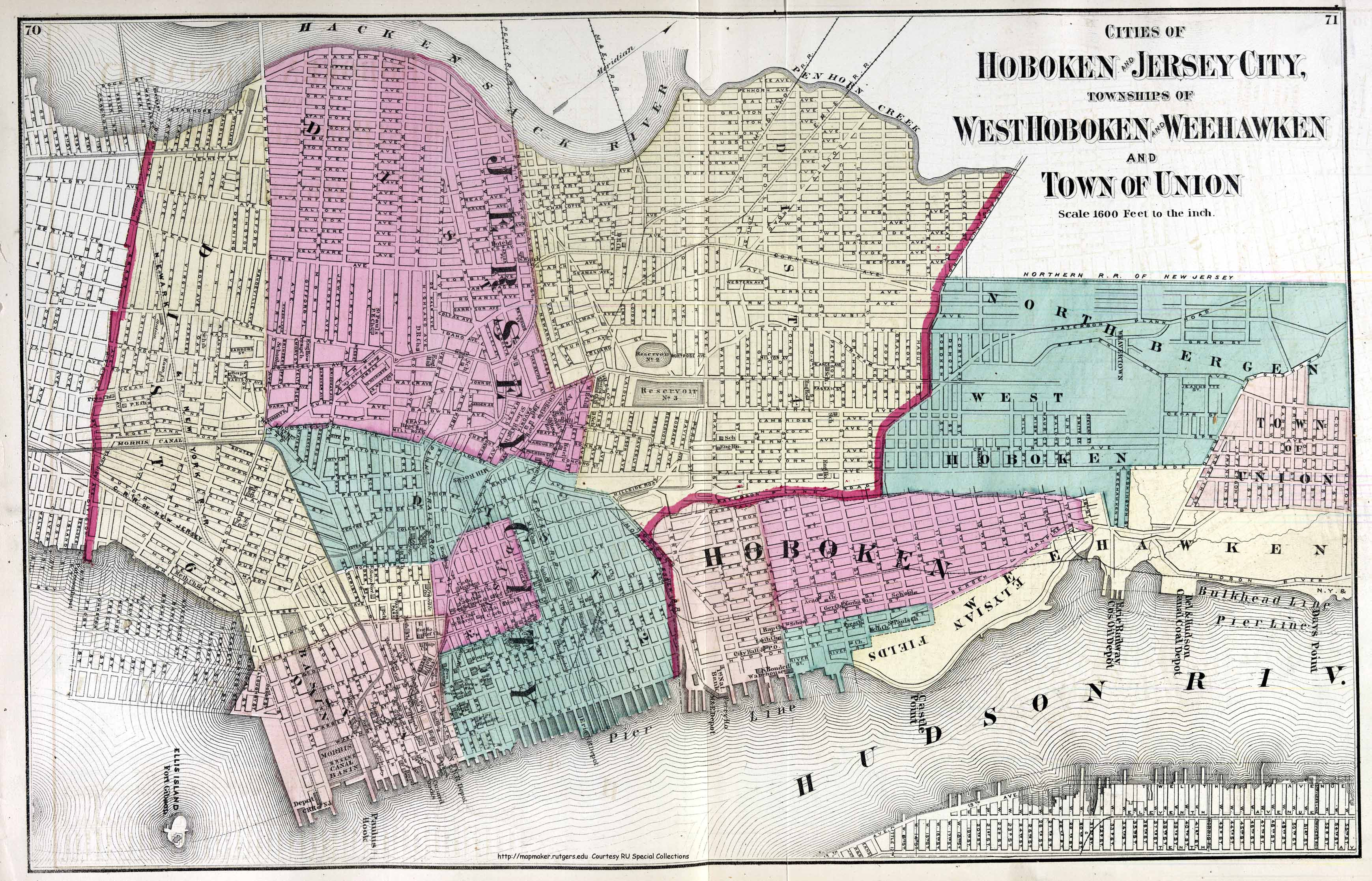 Southern California City Boundaries Map Reference New Jersey - Historical Maps Of Southern California