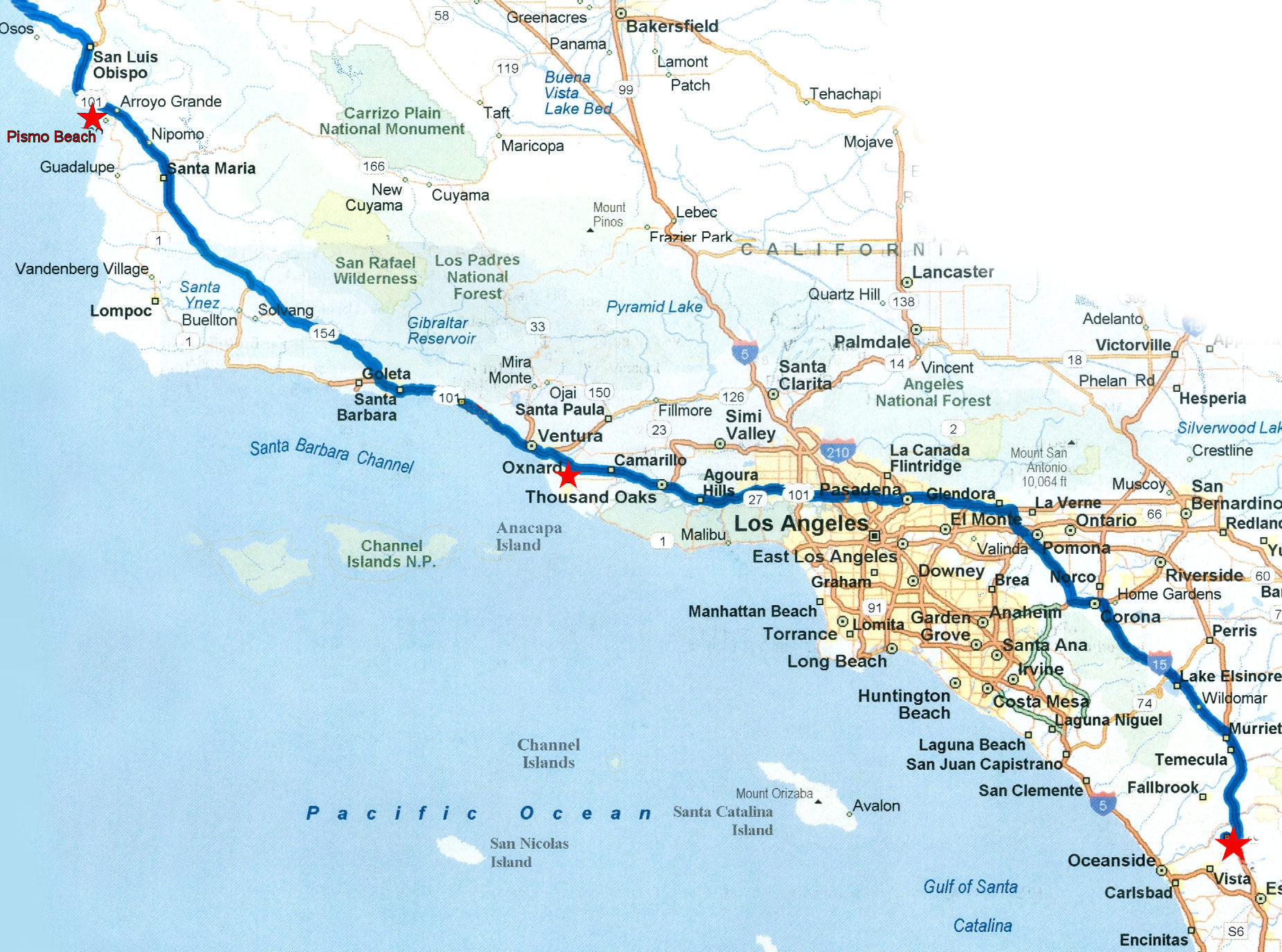 Southern California Coastline Map Fresh Inspirational Map Oregon And - Oregon California Coast Map