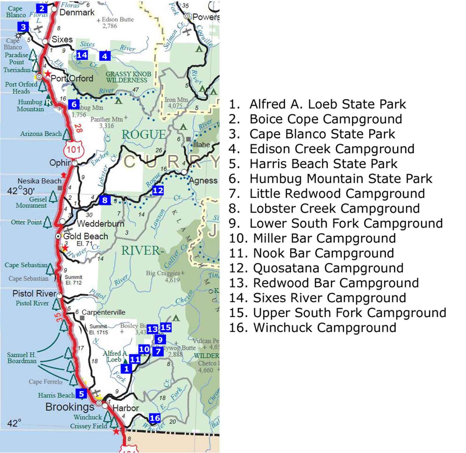 Southern California Edison Map Fresh Map Oregon And California Coast - Oregon California Coast Map