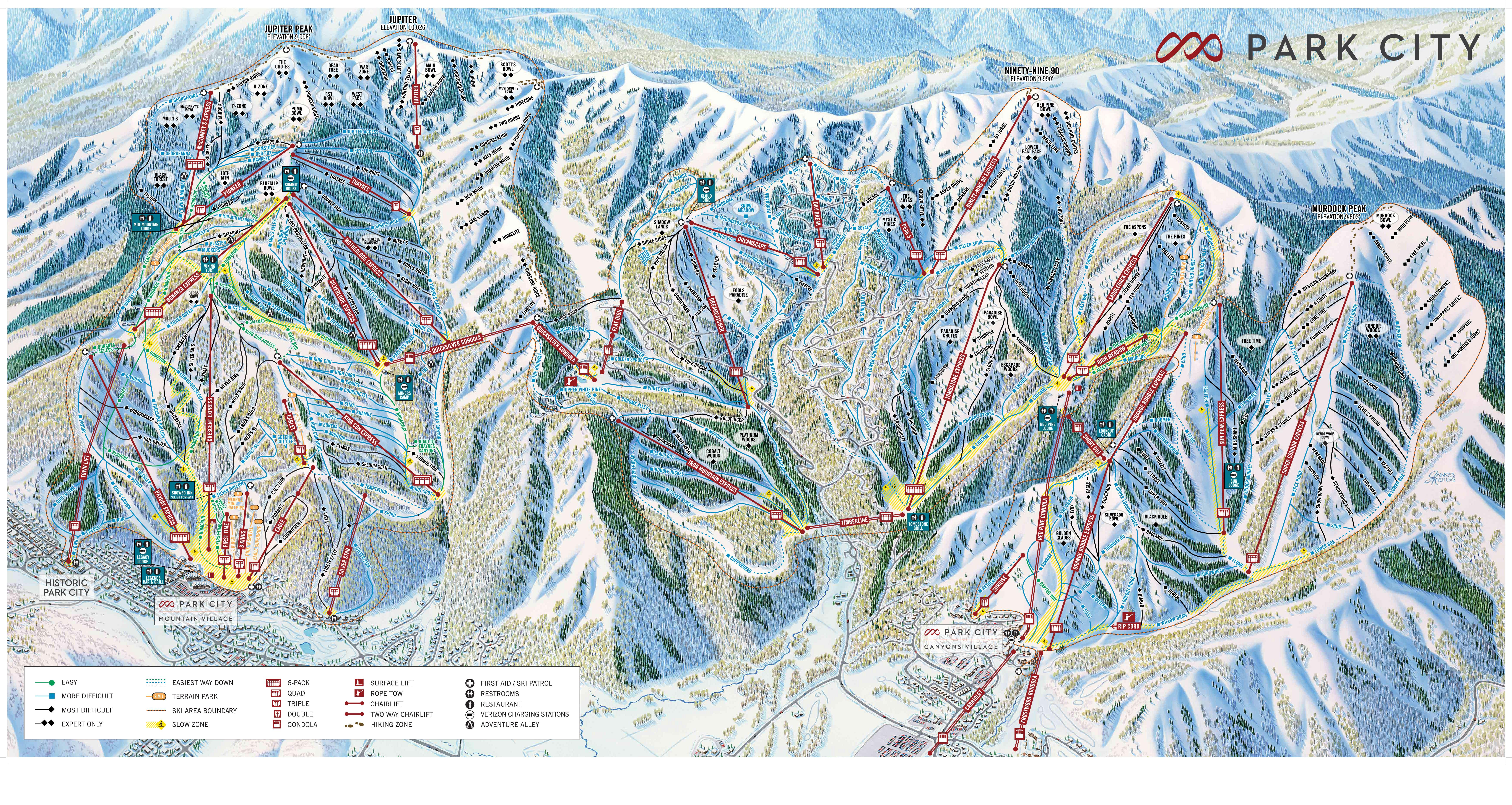 Southern California Ski Resorts Map Best Of Park City Ski Resorts - Southern California Ski Resorts Map