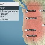 Southern California Temperature Map Valid Northwestern Us Heat Wave   Southern California Heat Map