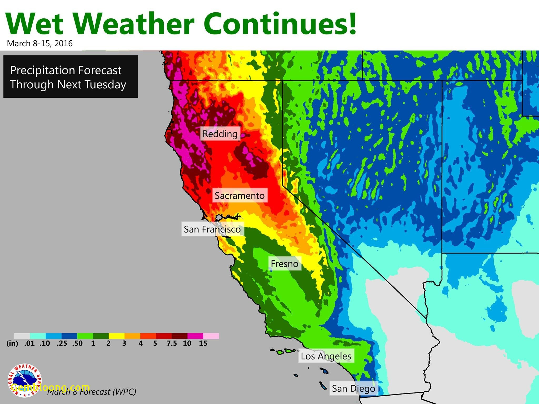 Southern California Weather Map Smart Ideas - World Map - Southern California Weather Map