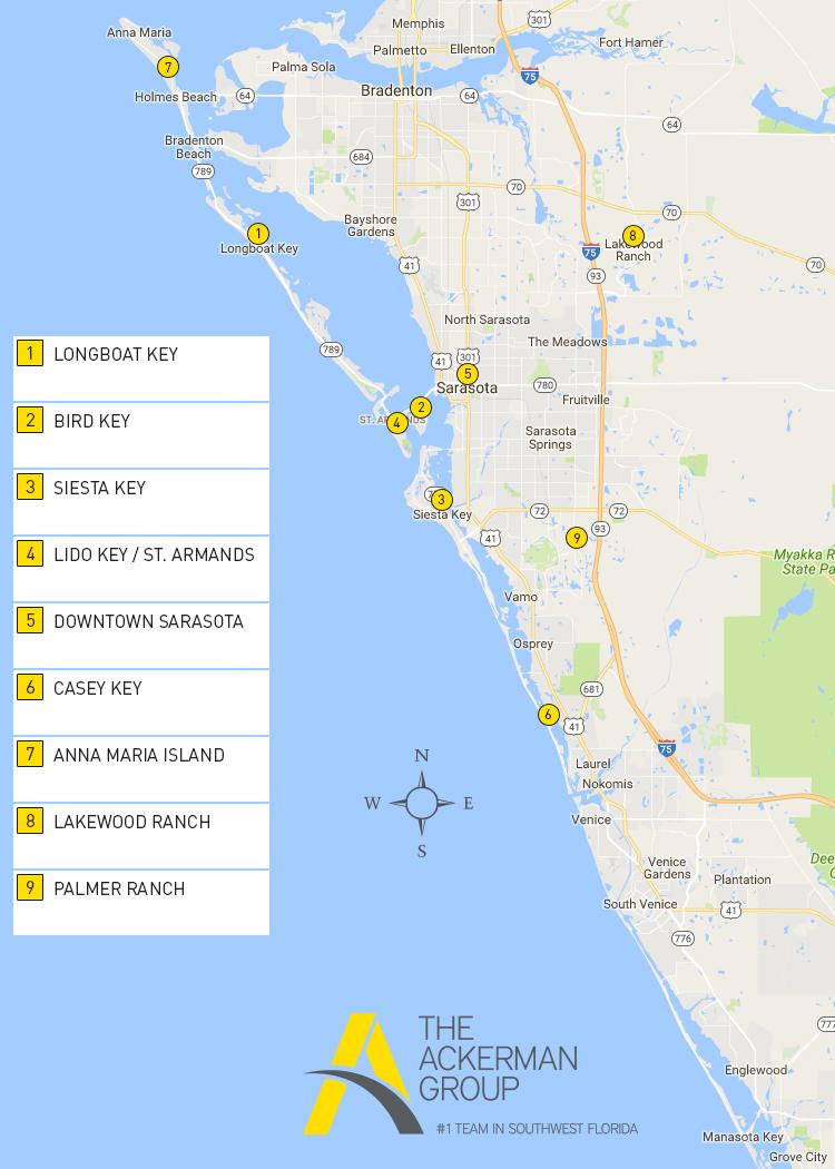 Southwest Florida Area Map Sarasota Area Map Search - Area Map Search - Lakewood Florida Map