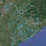 Space Images | New Nasa Satellite Flood Map Of Southeastern Texas   Google Maps Satellite Texas