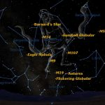 Spotted! A Rarely Seen Constellation Shines This Summer   Space   Southern California Night Sky Map