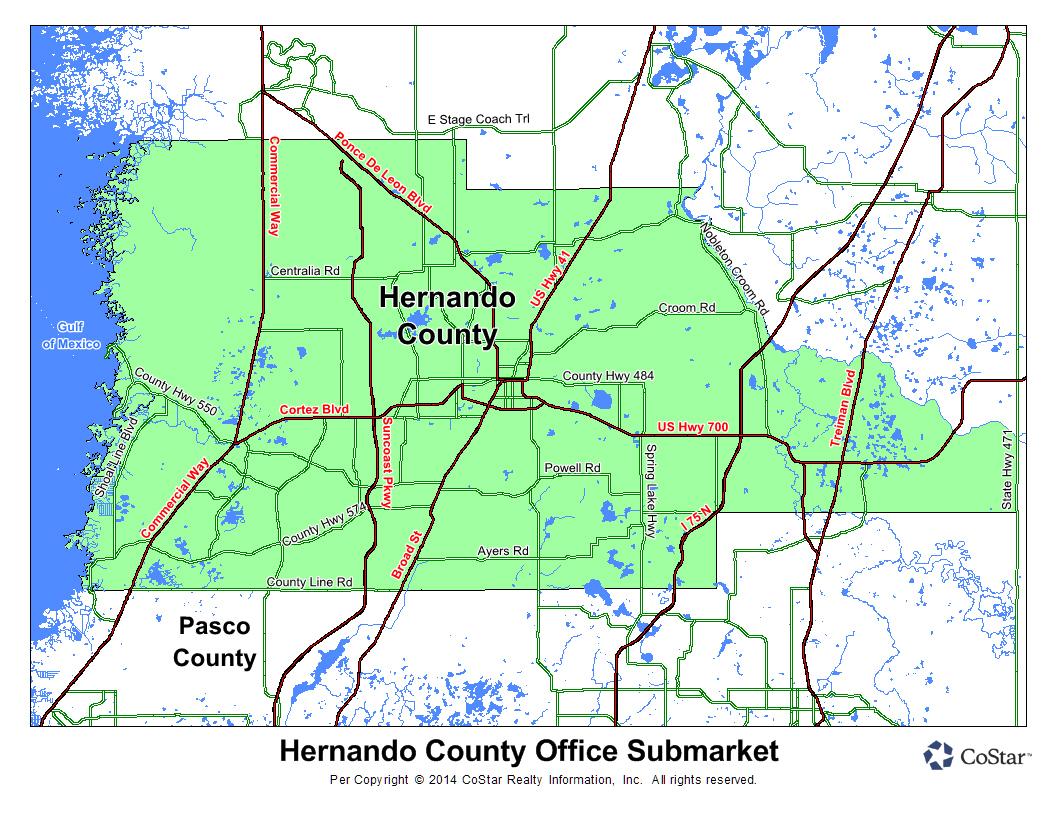 Spring Hill Dr, Brooksville, Fl, 34604 - Land Property For Sale On - Spring Hill Florida Map