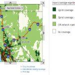 Sprint Coverage Map California   Klipy   Sprint Coverage Map California