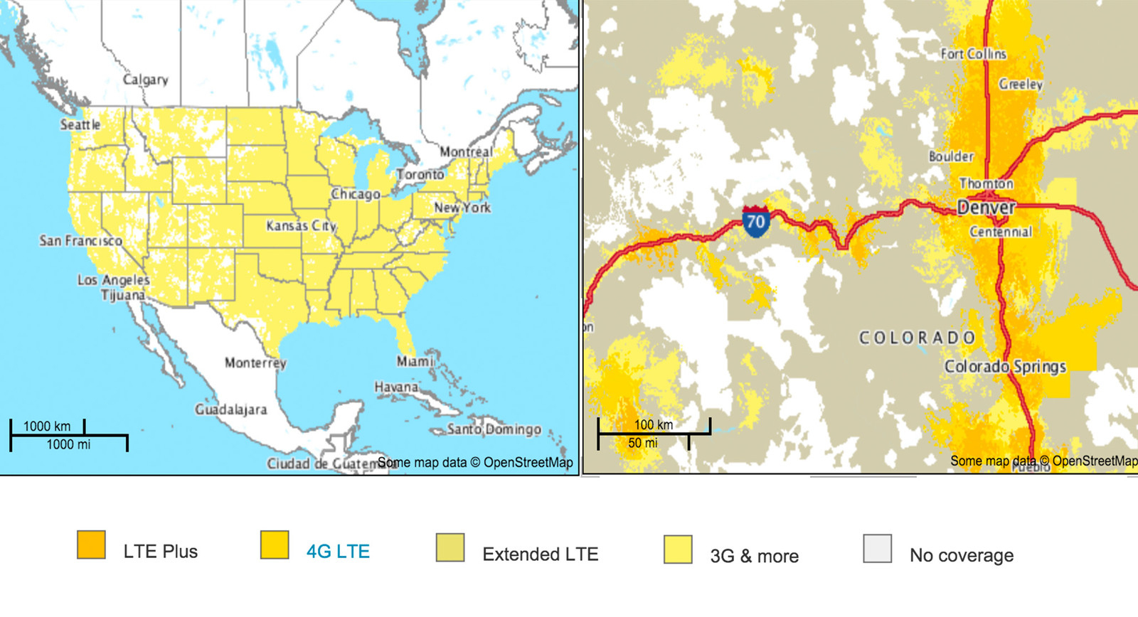 Sprint Data Coverage Map Hd Map Of At&t Coverage Map California - Sprint Coverage Map California