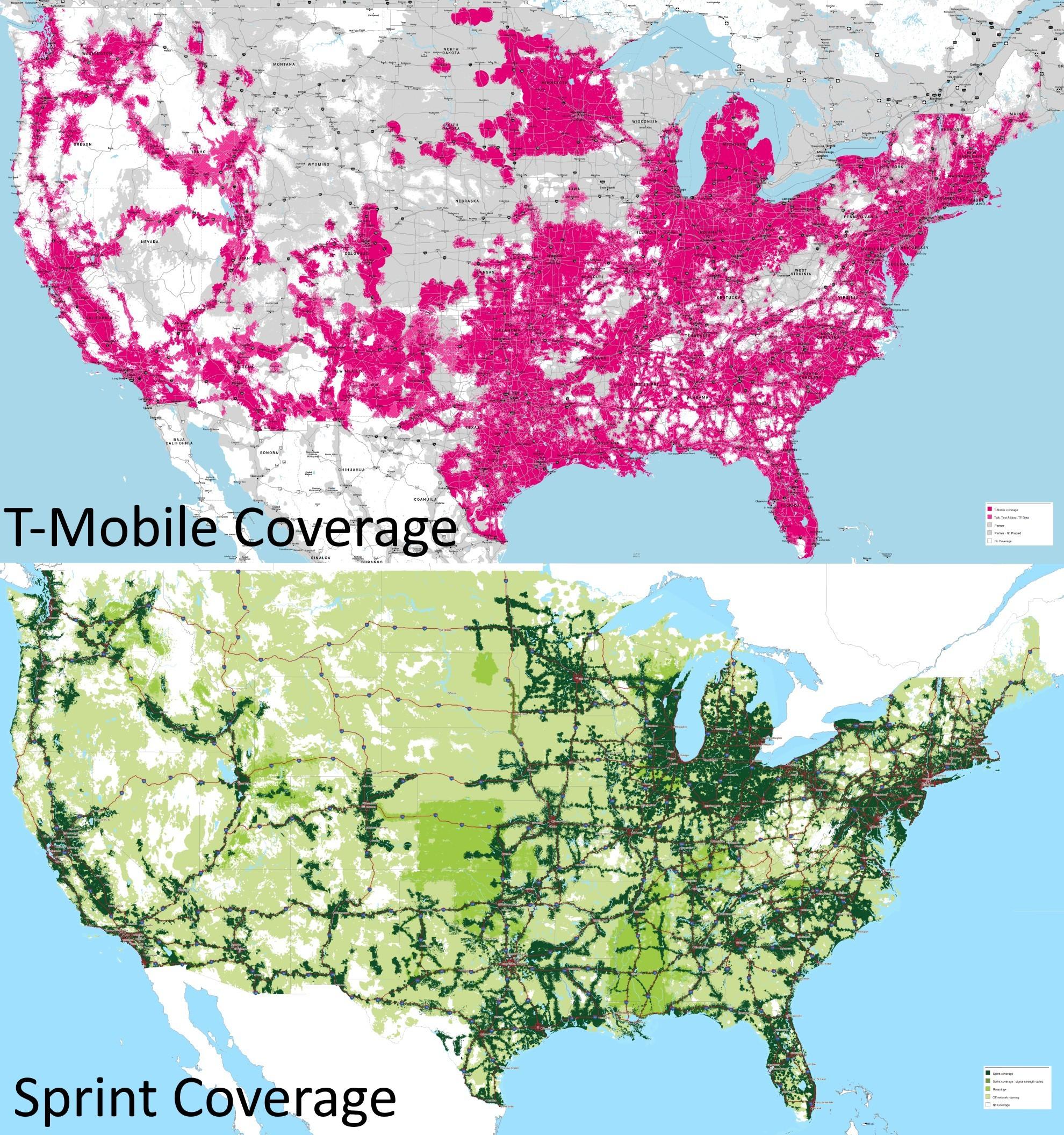 Sprint Us Coverage Map 2016 Sprintspectrumusmap Lovely Sprint - Sprint Coverage Map Texas