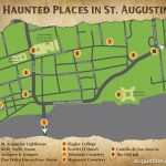 St. Augustine Haunts | Visit St Augustine   St Augustine Florida Map Of Attractions