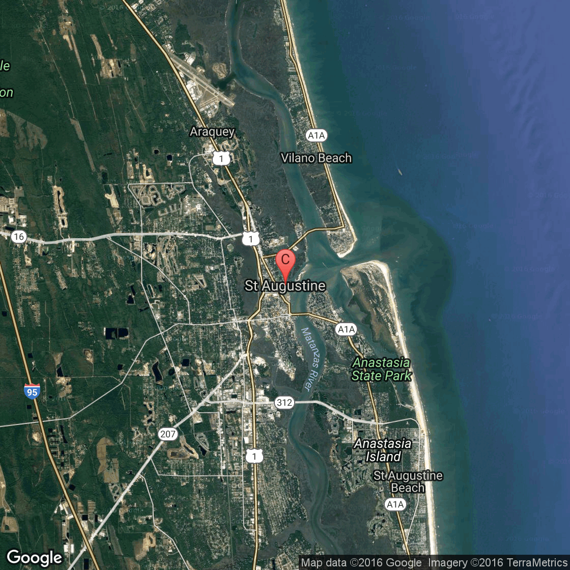 St. Augustine Hotels That Allow Dogs | Usa Today - Map Of Hotels In St Augustine Florida