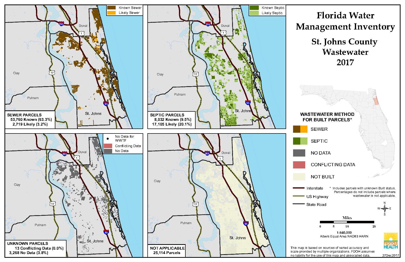 St Johns Florida Map - St Johns Florida Map