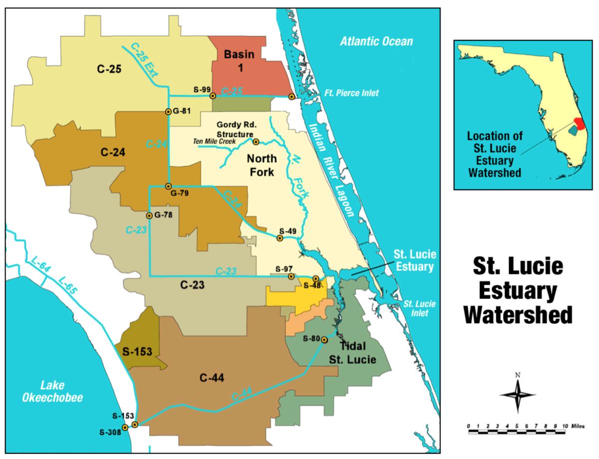St. Lucie River - Wikipedia - Flood Zone Map Osceola County Florida