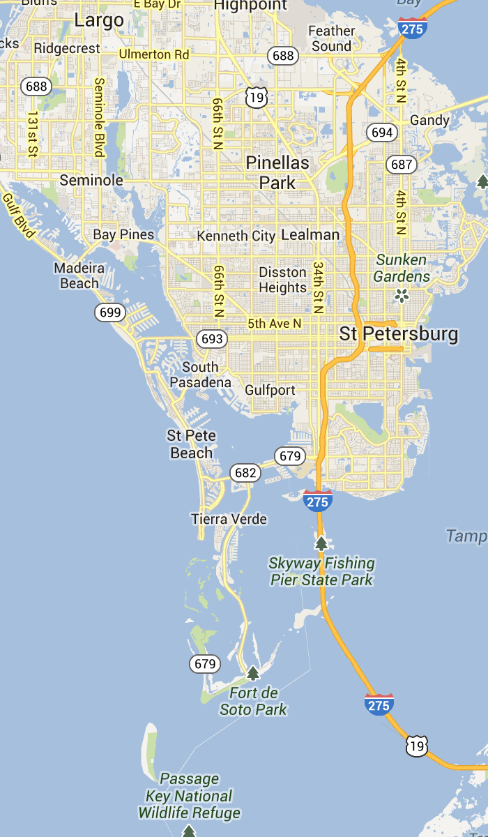 St. Pete Beach And Pass-A-Grille Florida | St Petersburg Clearwater - Map Of Tampa Florida Beaches