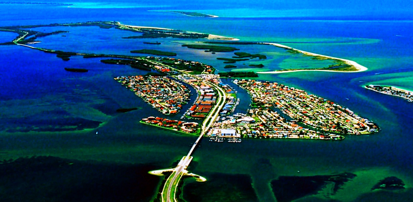 St Pete Beaches, Pinellas County Beach Real Estate, St Pete Beach Fl - Terra Verde Florida Map