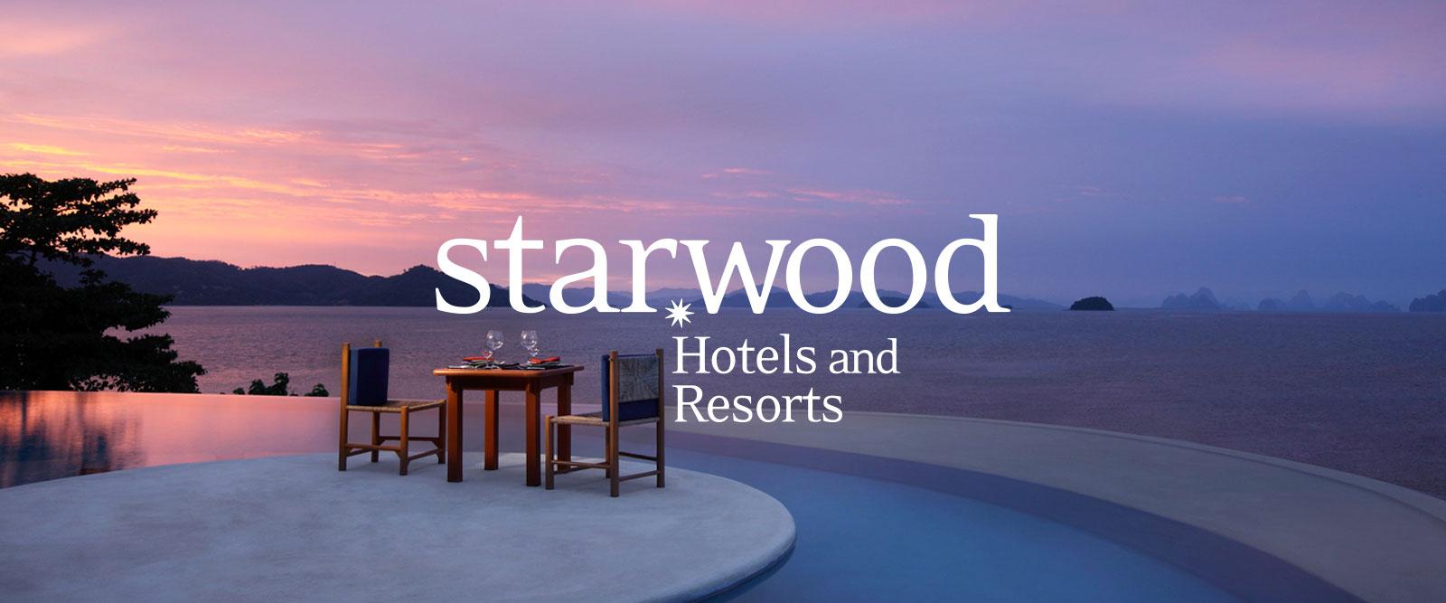 Starwood Hotels & Resorts Logos - Starwood Hotels California Map