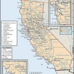 State And County Maps Of California   Map Of Northern California Cities And Towns