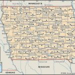 State And County Maps Of Iowa   Printable Map Of Iowa