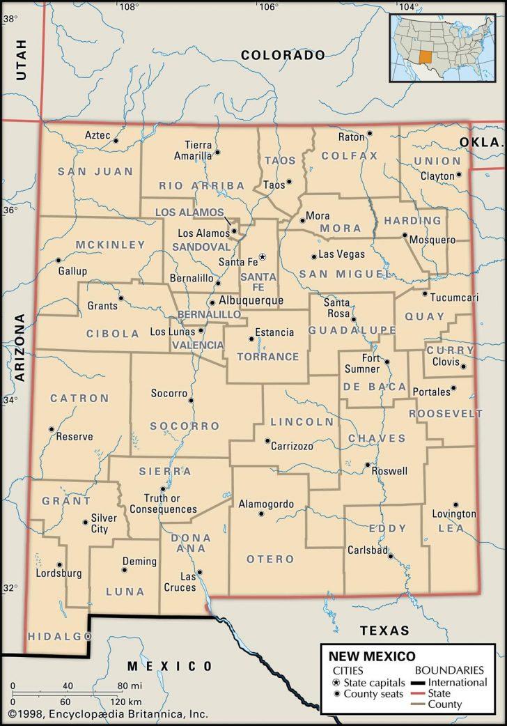 Printable Map Of Albuquerque