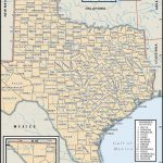 State And County Maps Of Texas   Texas State University Interactive Map