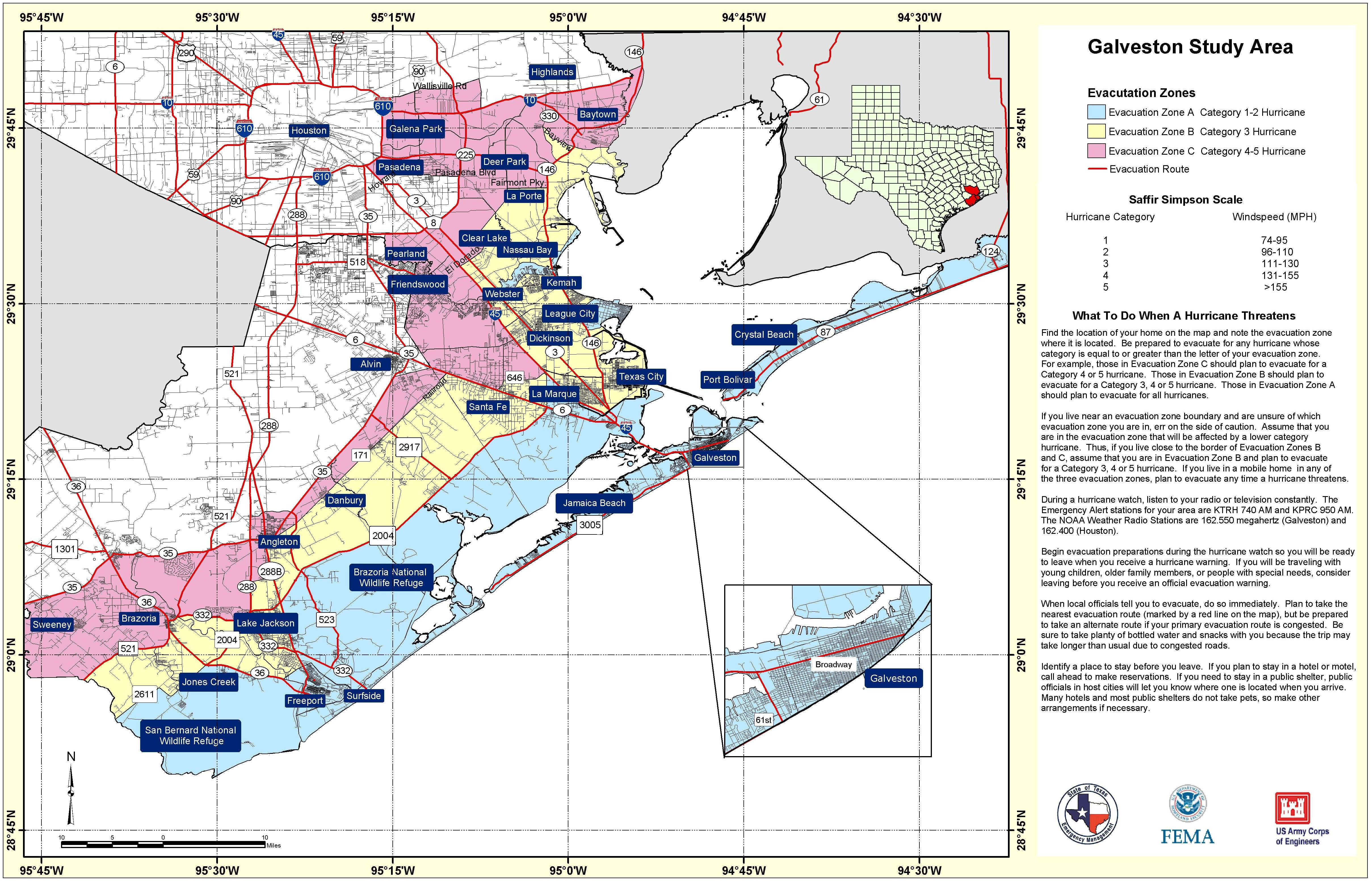 State Level Maps - Harris County Texas Flood Map