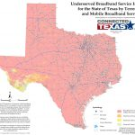 State Mapping | Connected Texas   Texas Broadband Map