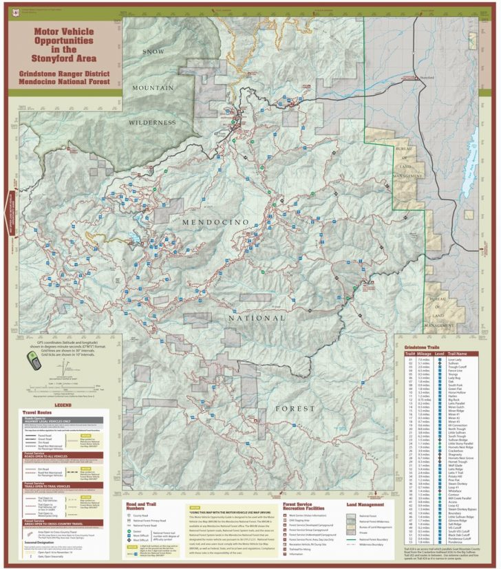 California Ohv Map