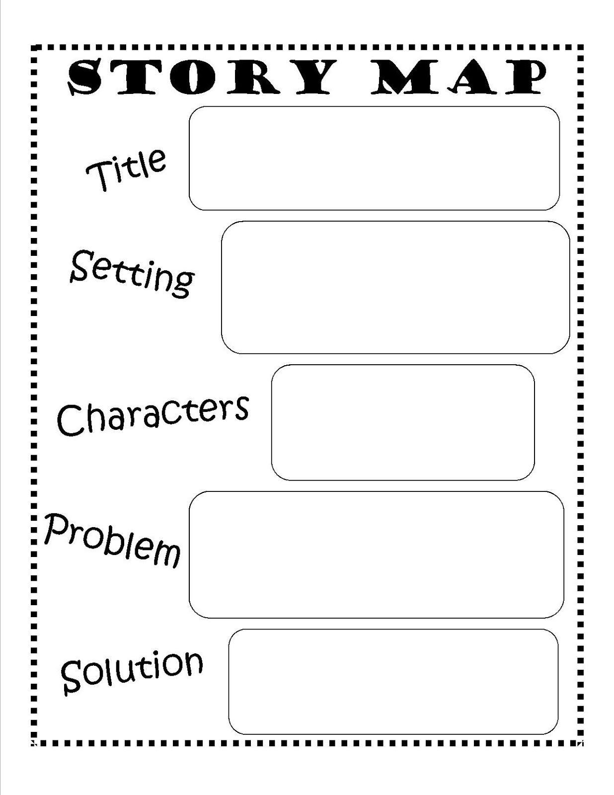 Story Map - Free Printable #reading #writing #kids | Ela | Pinterest - Free Printable Story Map