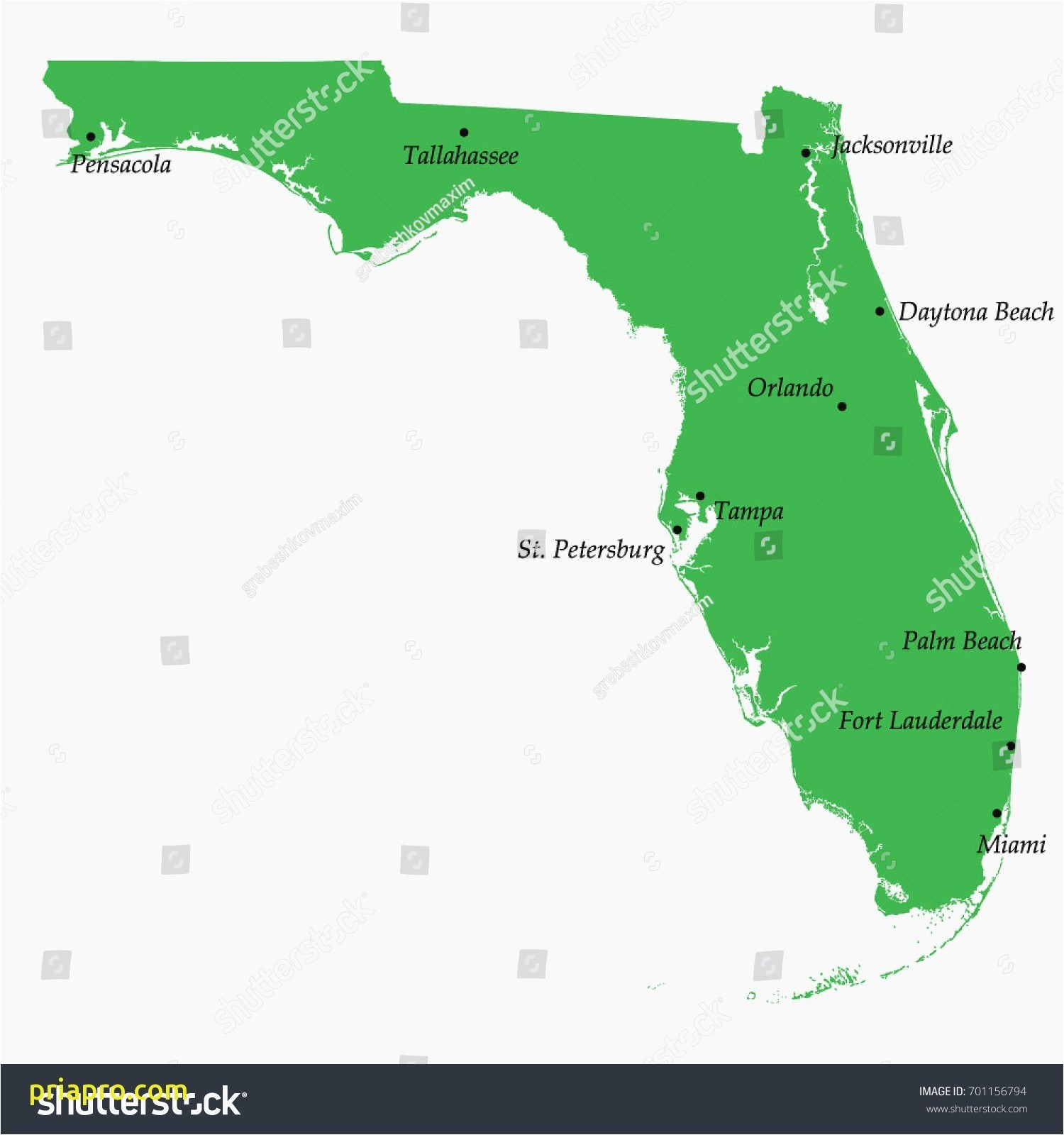 Street Map Ormond Beach Fl - Street Map Of Ormond Beach Florida