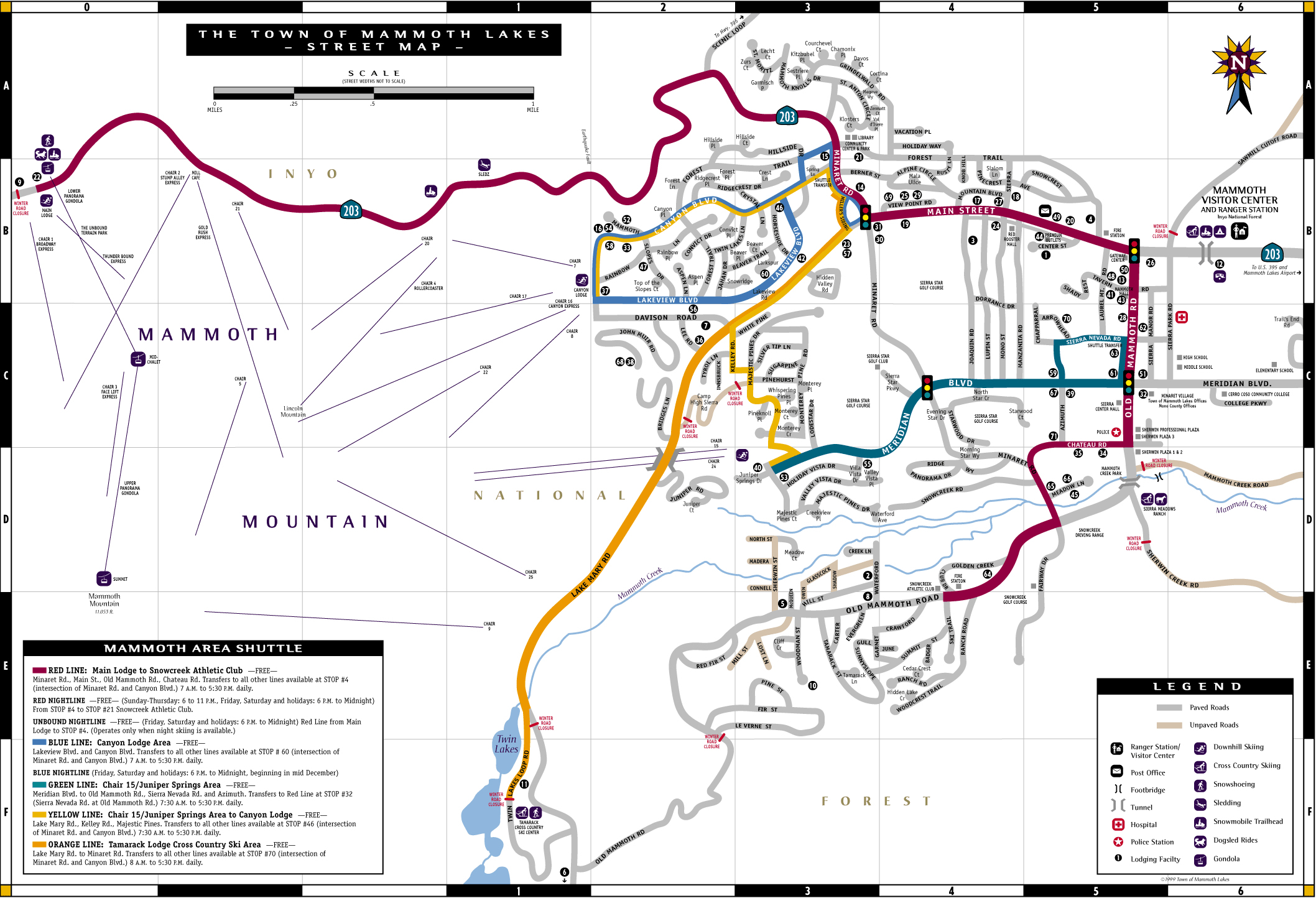 Streetmap California Map With Cities Mammoth Lakes California Map - Mammoth California Map
