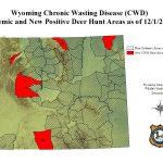 Study: Chronic Wasting Disease Kills 19% Of Deer Herd Annually   Mule Deer Population Map Texas