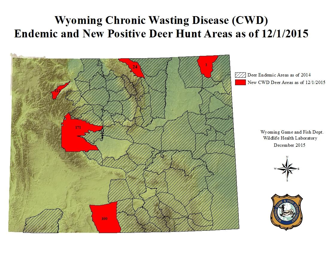 Study: Chronic Wasting Disease Kills 19% Of Deer Herd Annually - Mule Deer Population Map Texas
