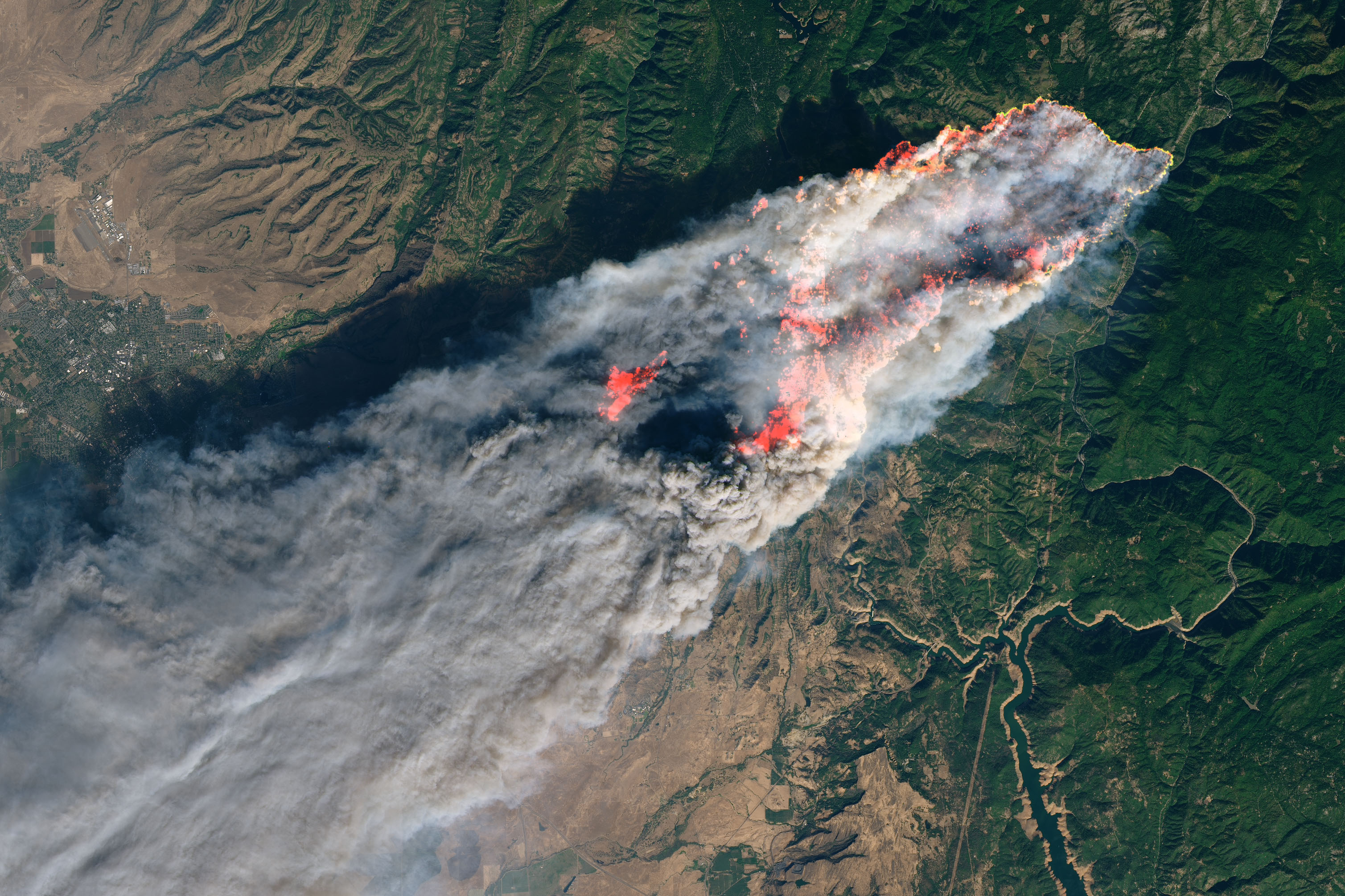 Stunning Satellite Images And Animations Offer A Sobering - Live Satellite Map California