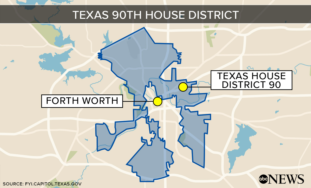 Supreme Court Reverses Decision On Texas Districts - Abc News - Texas House District Map