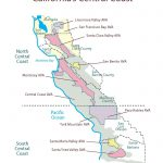 Swe Map 2019: California—Central Coast – Wine, Wit, And Wisdom   Map Of Central And Northern California Coast