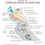 Swe Map 2019: California—Northern Central Coast – Wine, Wit, And Wisdom   Map Of Central And Northern California Coast