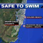 Swimming Advisory Lifted At Miami Dade Beaches – Wsvn 7News | Miami   Florida Beach Bacteria Map 2018