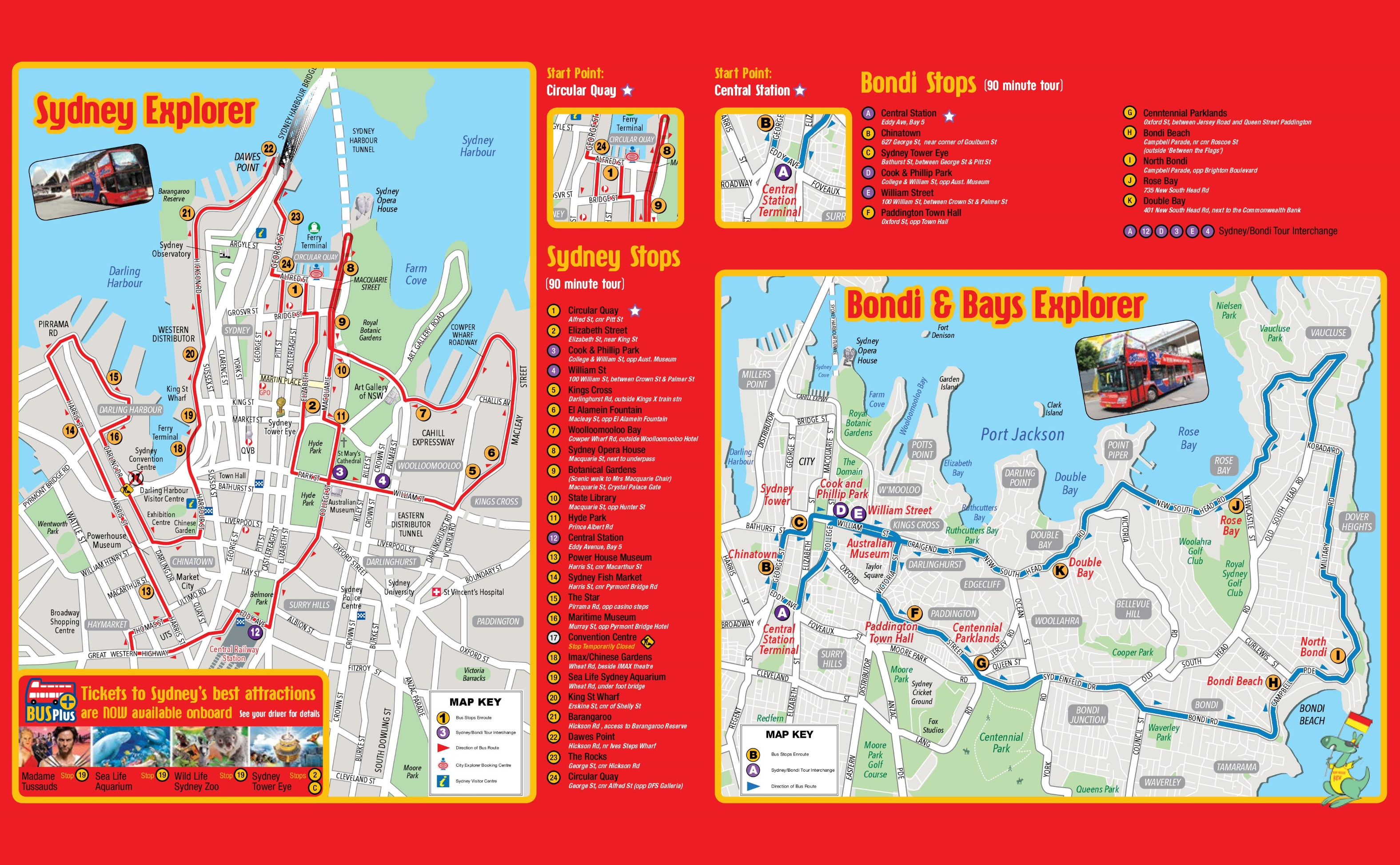 Sydney Maps | Australia | Maps Of Sydney - Sydney Tourist Map Printable