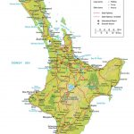 Take A Road Trip On New Zealand's North Island   New Zealand South Island Map Printable