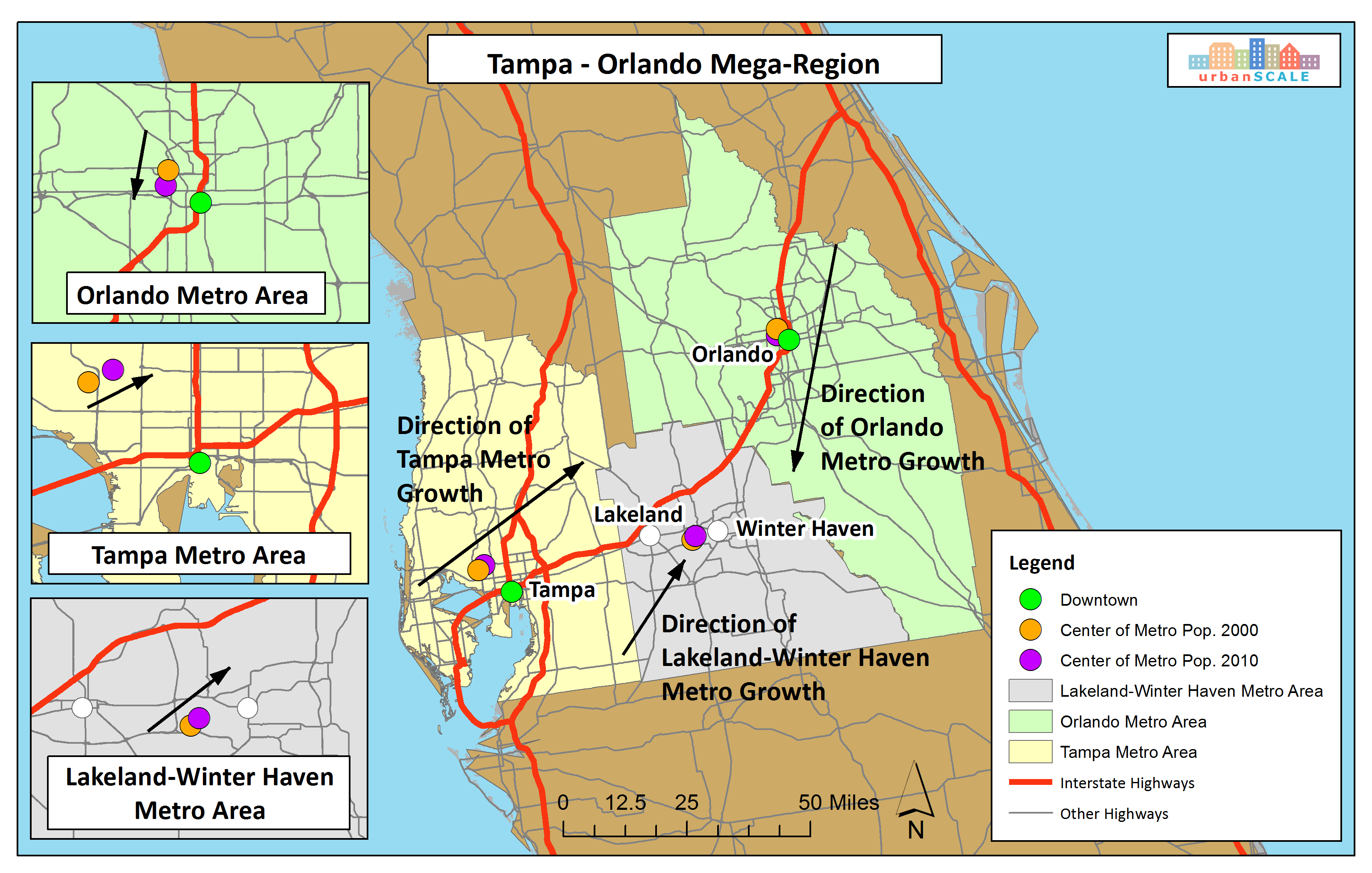 Tampa Cities Map And Travel Information | Download Free Tampa Cities Map - Tampa Florida Map With Cities