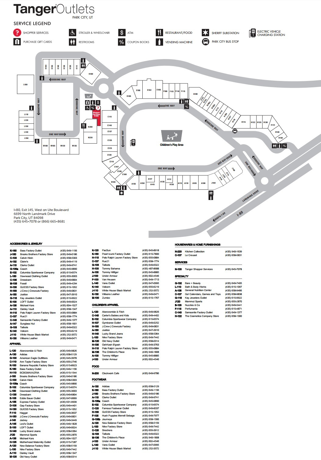 Tanger Outlet Texas City Map - Tanger Outlet Texas City Map