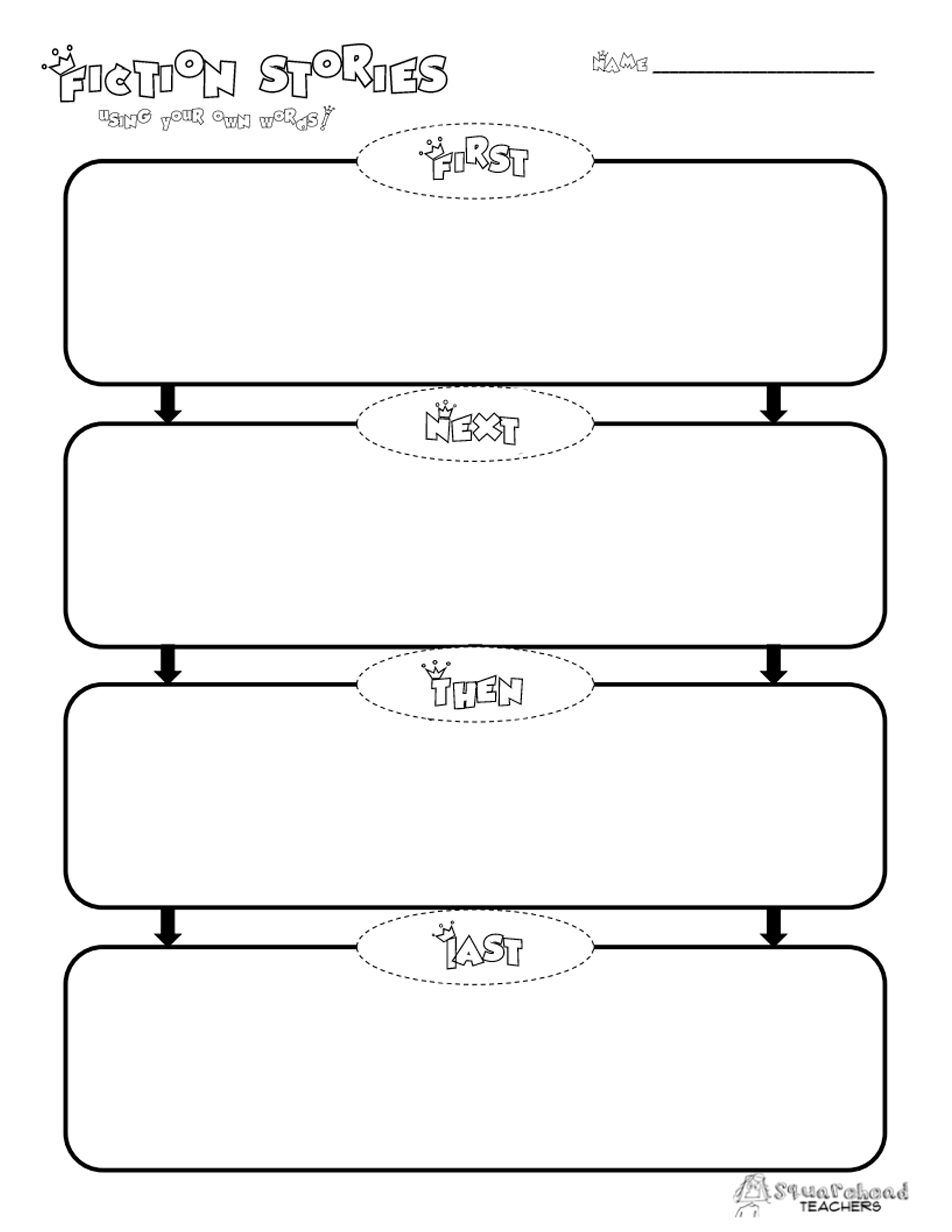 Template Samples – Page 4 – Guatemalago - Printable Story Map Graphic Organizer