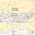 Tennessee Pictures | Tennessee State Map   A Large Detailed Map Of   Printable Map Of Chattanooga