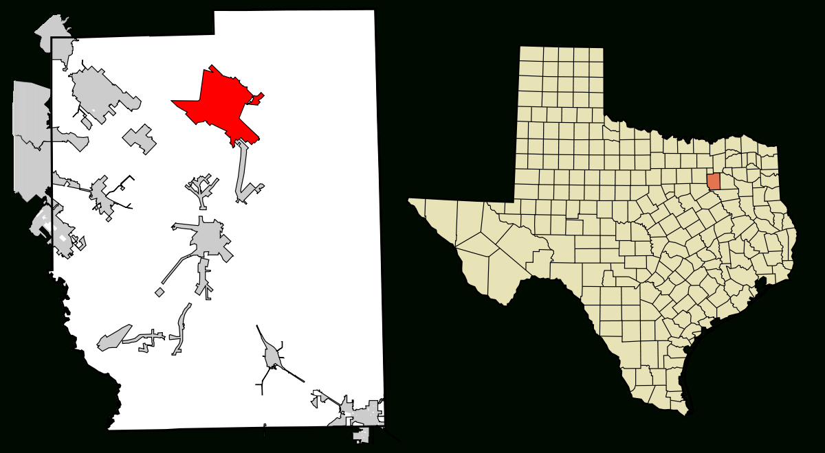 Terrell, Texas - Wikipedia - Terrell Texas Map
