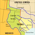 Texan Santa Fe Expedition   Wikipedia   Map Of Texas Showing Santa Fe