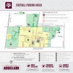 Texas A&m Football Gameday   12Thman   Texas A&m Parking Lot Map