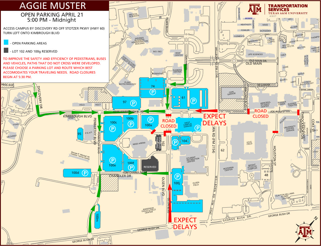 Texas Am Football Parking Map - World Maps - Texas A&m Football Parking Map